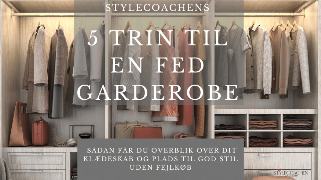Stylecoachens E-bog 5 trin til en fed garderobe